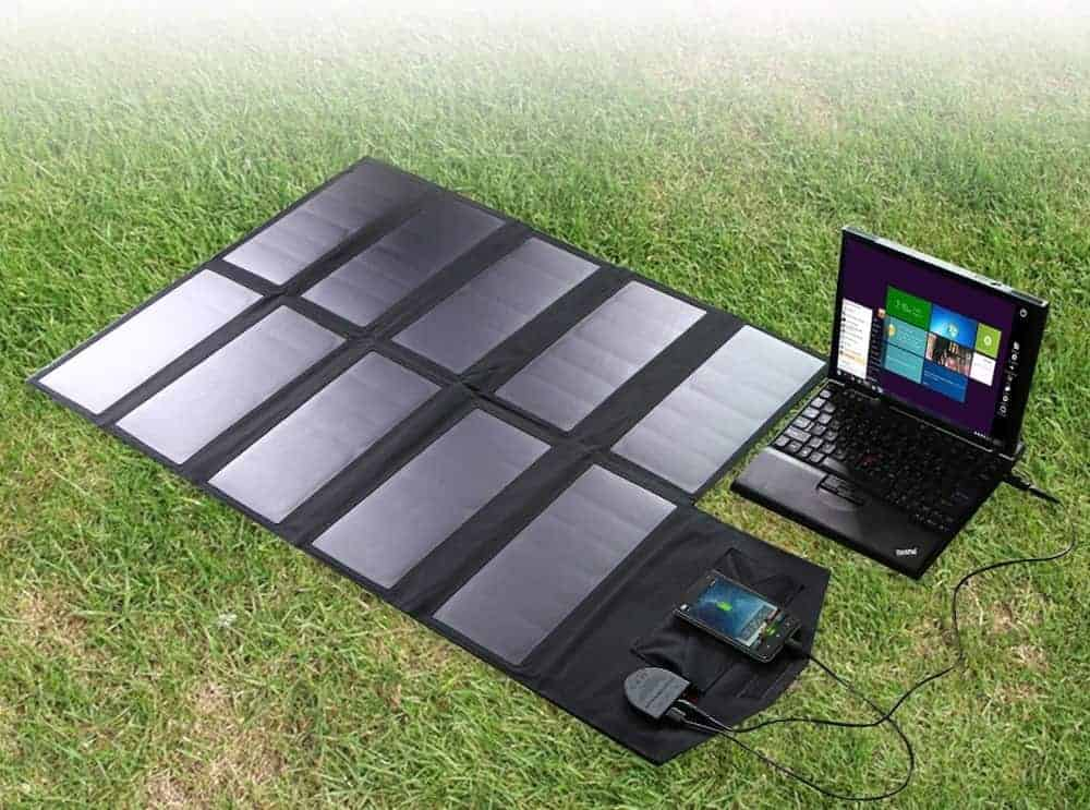 Best Solar Panel Charger for Digital Nomads