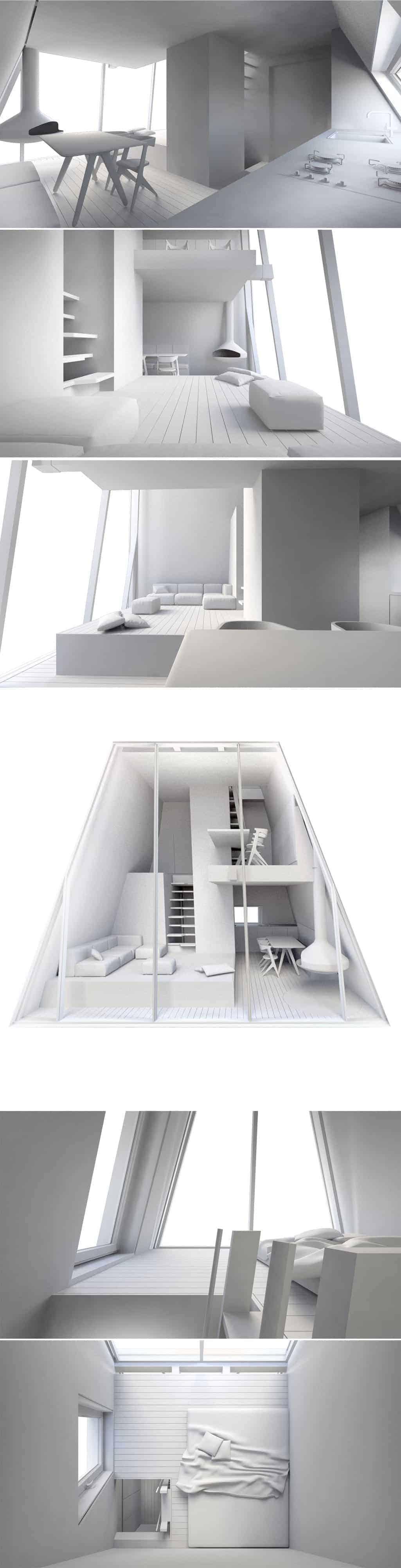 single pole tiny house