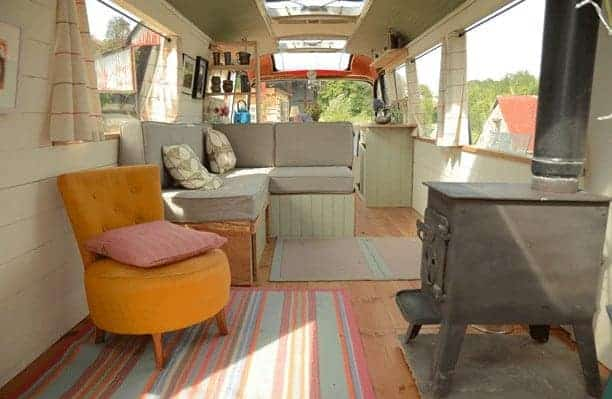 tiny house conversion from bus