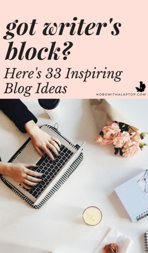 ideas for a blogpost