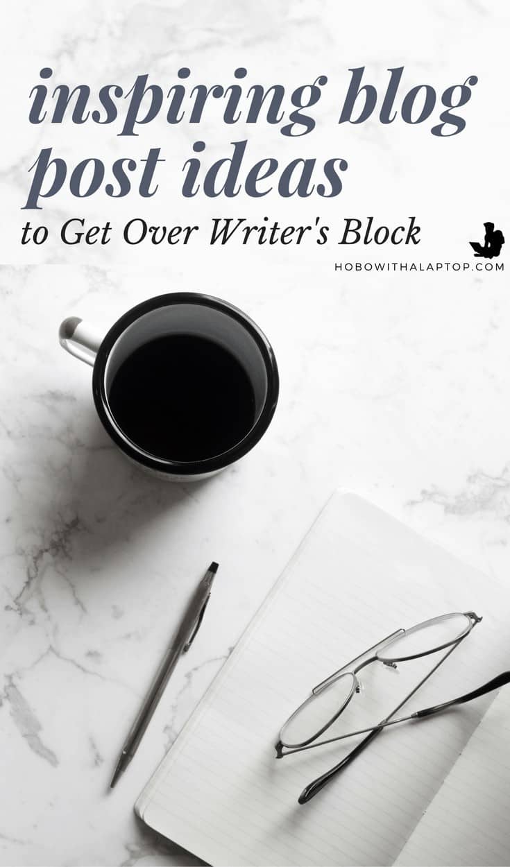 get rid of writer's block