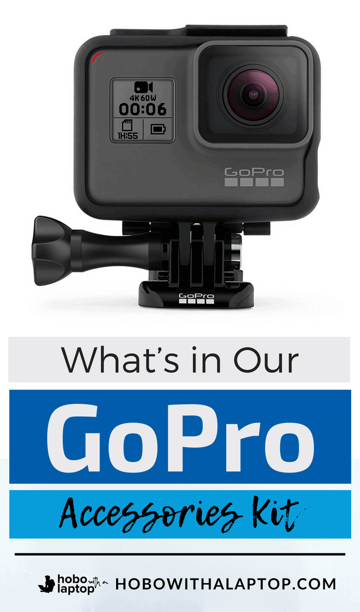 GoPro Accessories for Traveling
