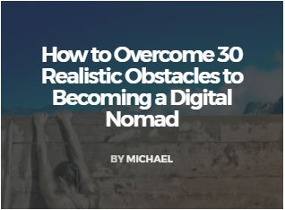 Digital Nomad Obstacles