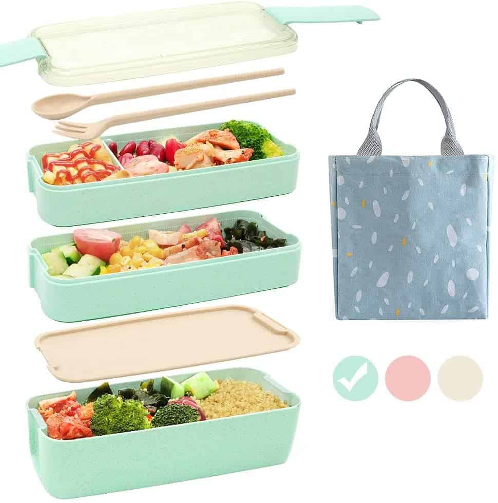 Bento-Style Food Containers
