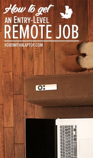 remote jobs usa entry level