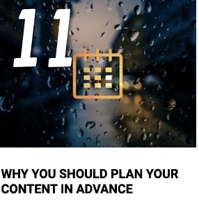 Plan Your Posts in Advance