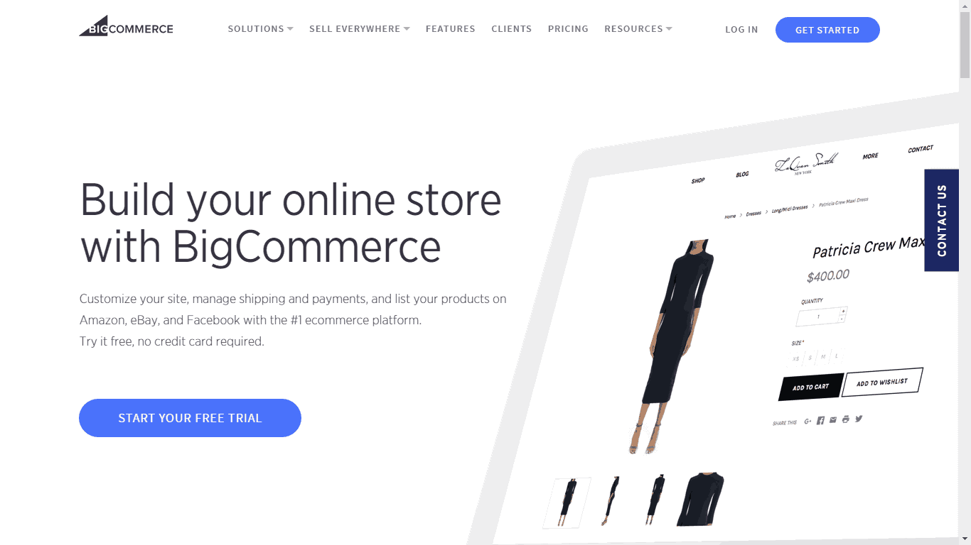 Shopify Alternative BigCommerce