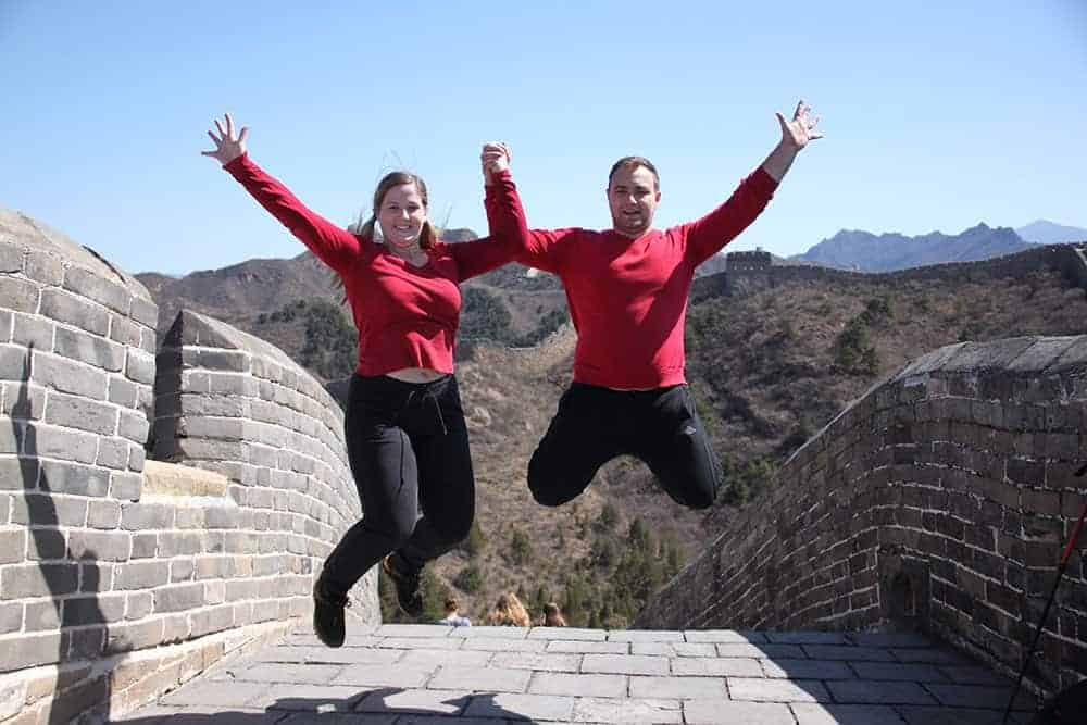 Digital Nomads on the Great Wall of China