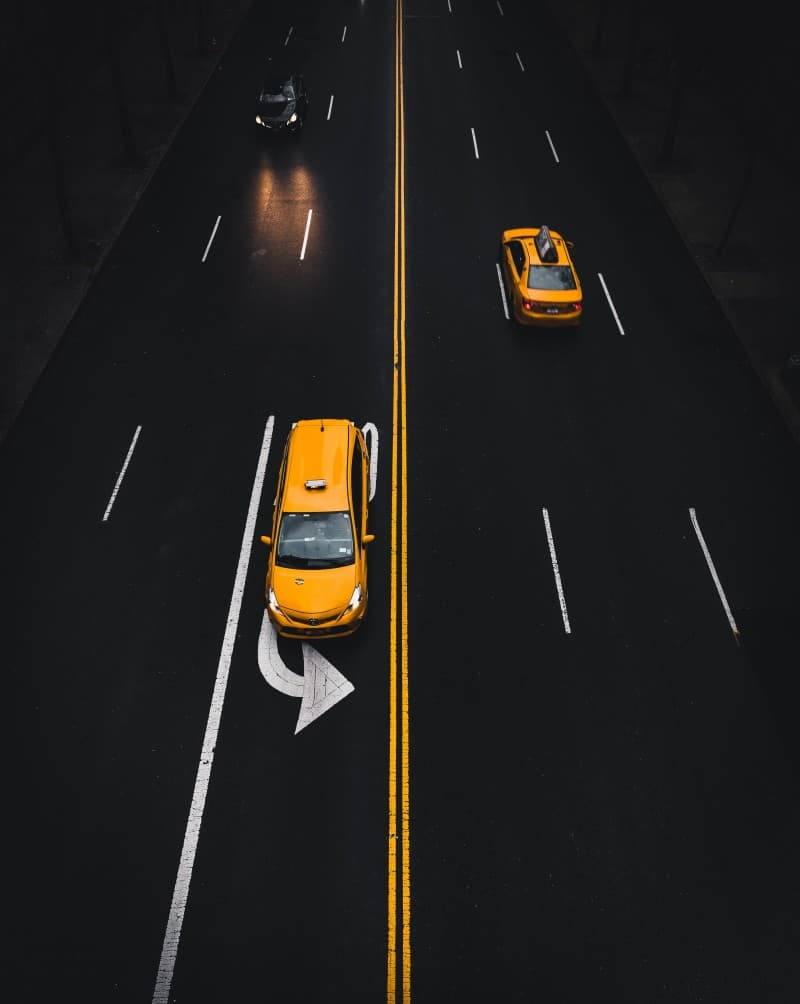 Traffic in Manhattan