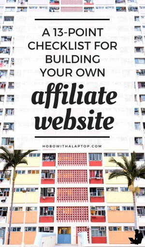 How to Make Affiliate Site