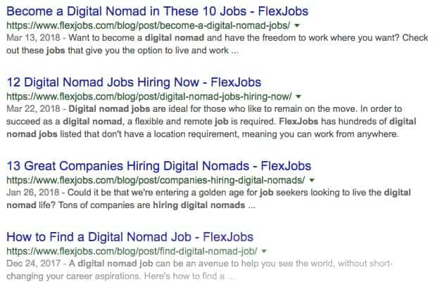 Find Digital Nomad Jobs on FlexJobs