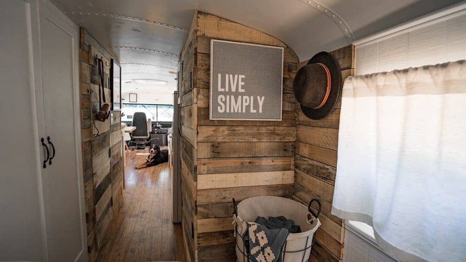 Bus conversion to Tiny House