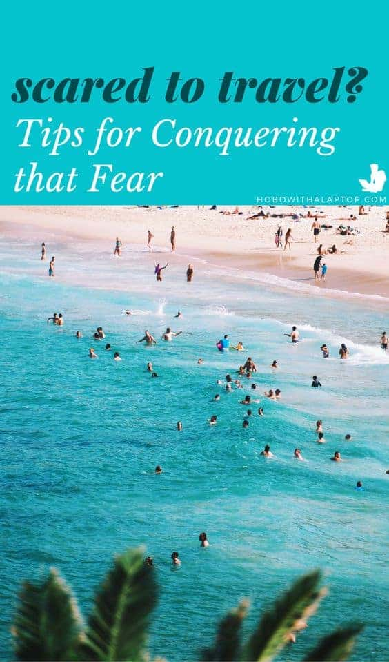 how to conquer fear of travel