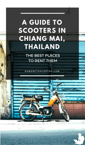 Where to Rent Scooter Chiang Mai