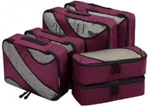 packing cubes solo female travel southeast asia