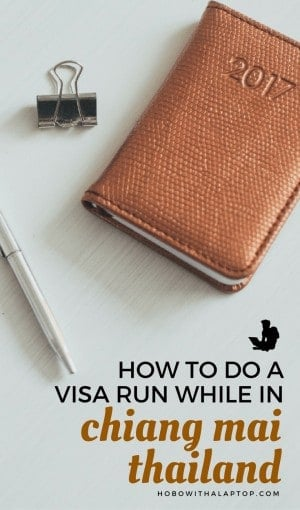 How Chiang Mai Visa Run